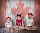 Canada Flag - Wood - Backdrop Shop