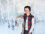 Painted Snowy Birch - Backdrop Shop