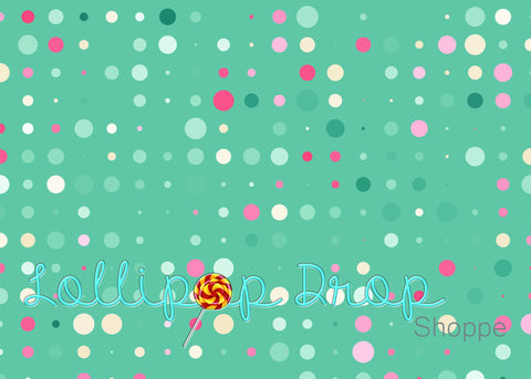 Polka Dots Gallore - Backdrop Shop