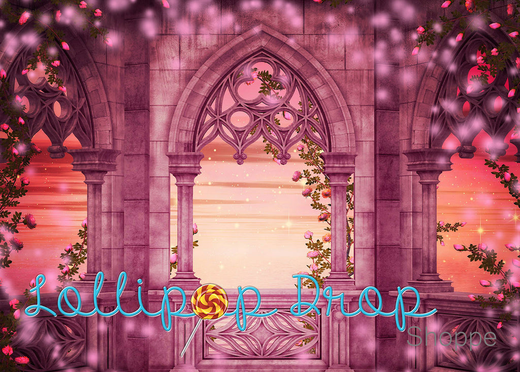 Princess Castle - Backdrop Shop