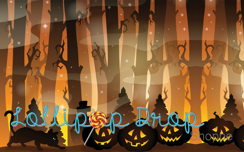 Pumpkin Forest - Backdrop Shop