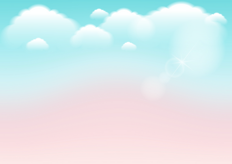 Green & Pink Sky - Backdrop Shop