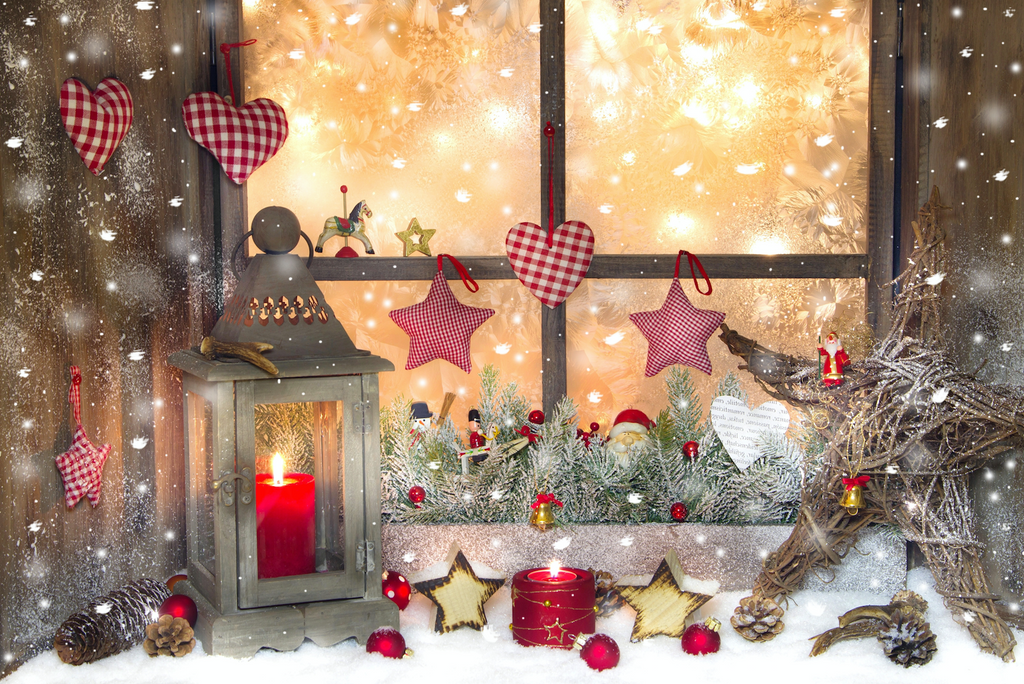 Love & Stars Christmas - Backdrop Shop