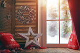 Christmas Star By The Window - Backdrop Shop