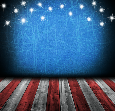 All-In-One American Flag - Backdrop Shop