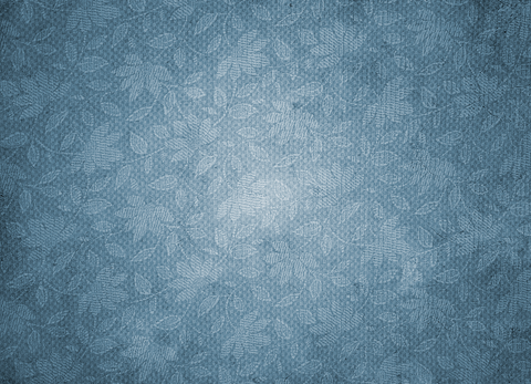 Vintage Pattern On Paper-Blue - Backdrop Shop