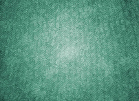 Vintage Pattern On Paper-Green - Backdrop Shop