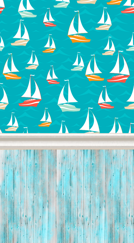 Sailing Boats-All In One - Backdrop Shop