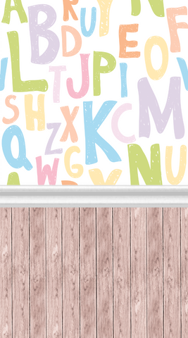 Fun Letters-All In One - Backdrop Shop
