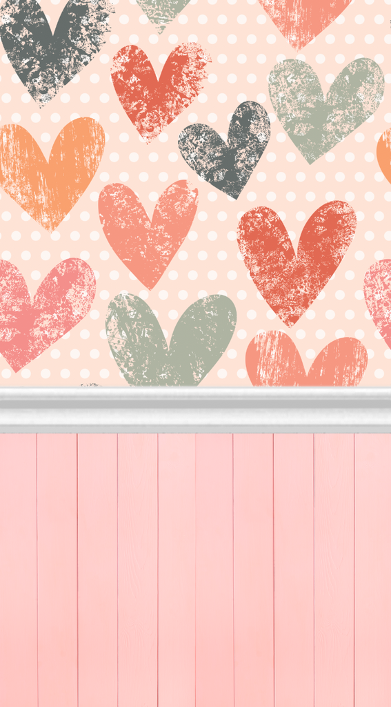 Sweet Hearts-All In One - Backdrop Shop