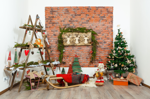 Natural Homemade Christmas Decorations And Toys - Backdrop Shop