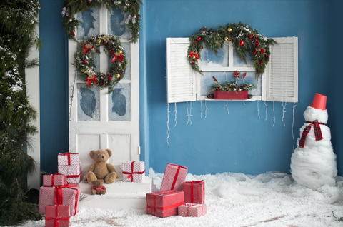 Beautifully Decorated House - Backdrop Shop