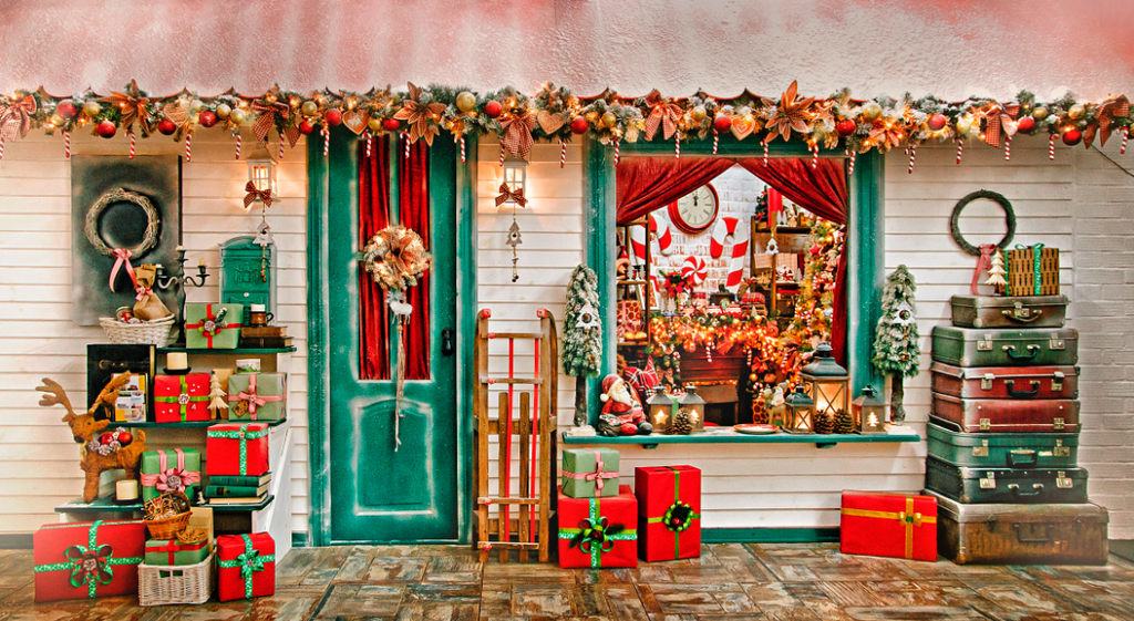 Christmas Street - Backdrop Shop