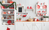 Christmas Baking - Backdrop Shop