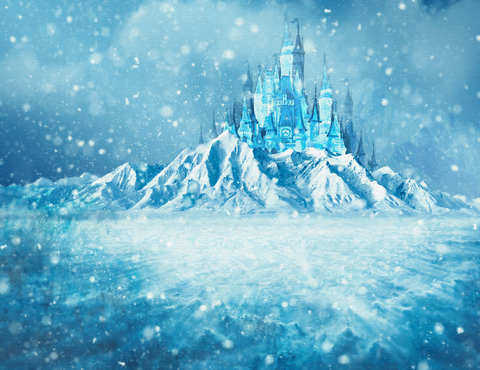 Frozen 2 Castle - Backdrop Shop