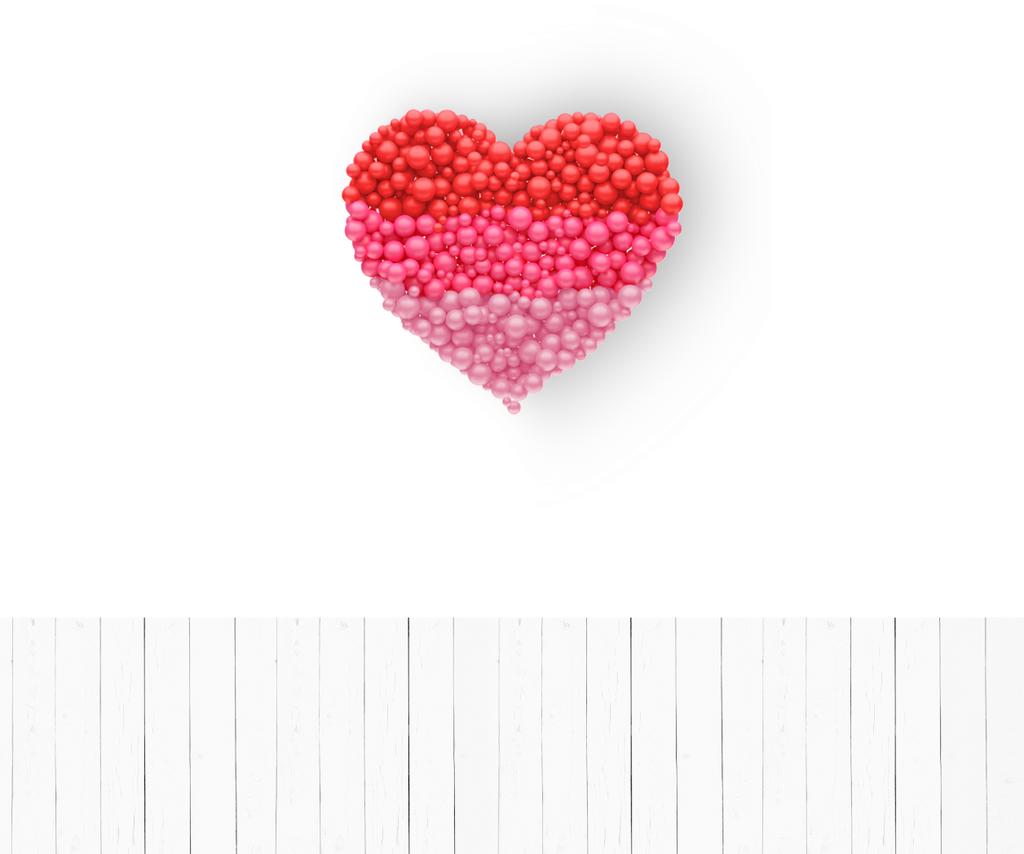 Heart On The Wall - Backdrop Shop