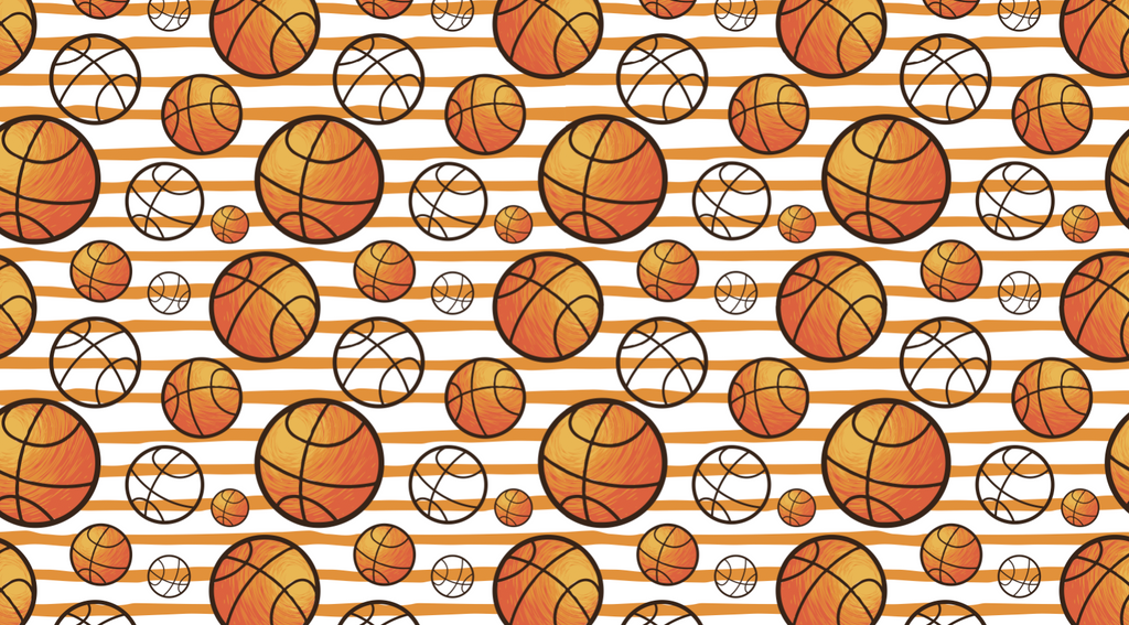 Basketballs - Backdrop Shop