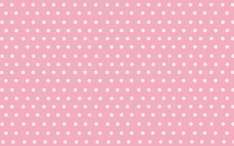 Pink Background Polka Dots - Backdrop Shop