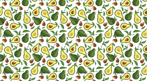 Avocado Party - Backdrop Shop