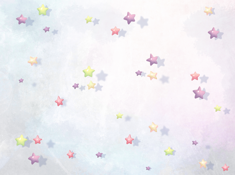 Floating Stars - Backdrop Shop