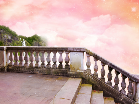 Fairytale Stairs - Backdrop Shop