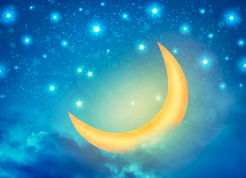Crescent Moon - Backdrop Shop