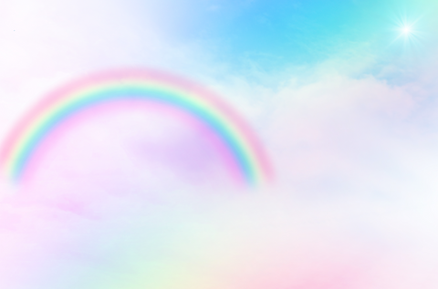 Unicorn Rainbow - Backdrop Shop
