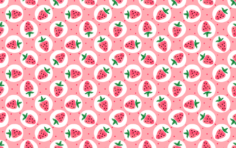 Strawberry Picking - Backdrop Shop