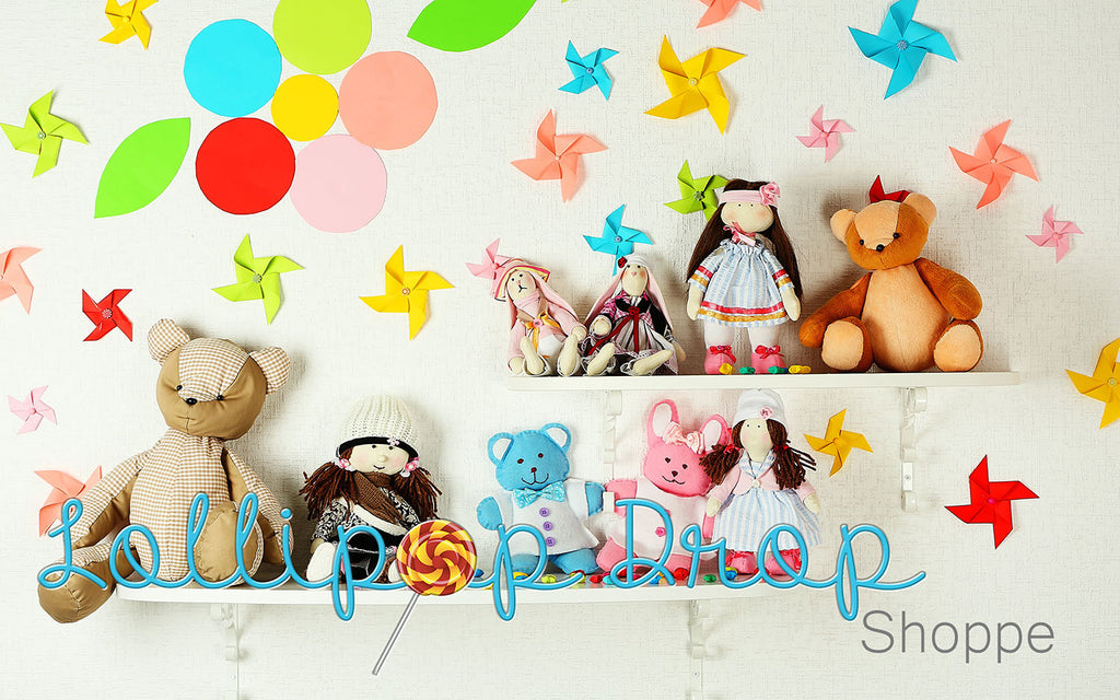 Toy Shelves - Backdrop Shop