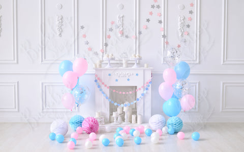 White Interior Birthday