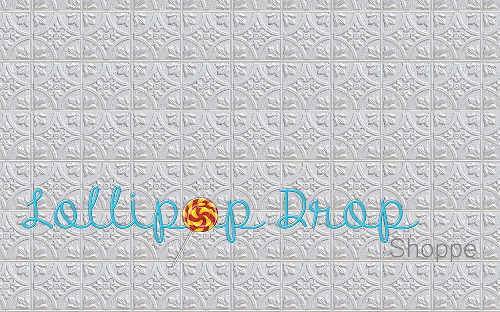 White Tiles - Backdrop Shop