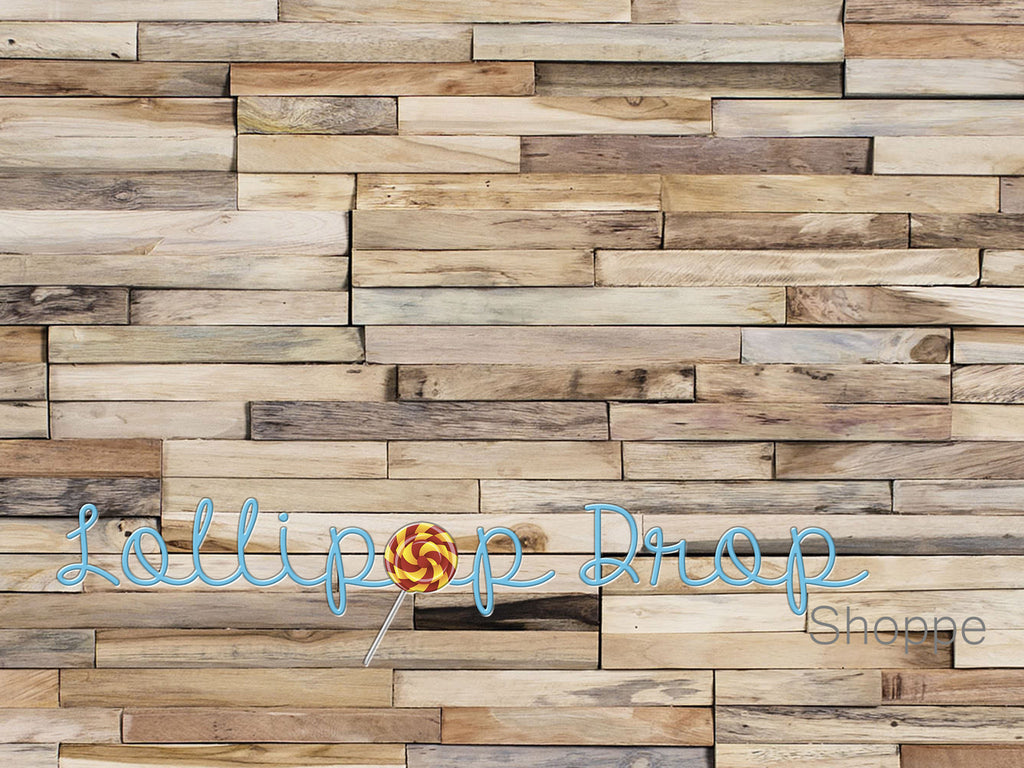 Wood Mosaic - Backdrop Shop