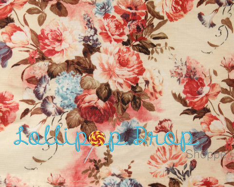 Antique Flowers - Backdrop Shop