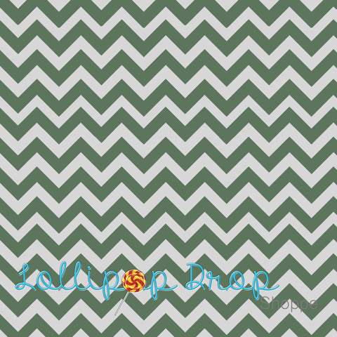 Army Green Chevron - Backdrop Shop