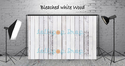 Bleached White Wood