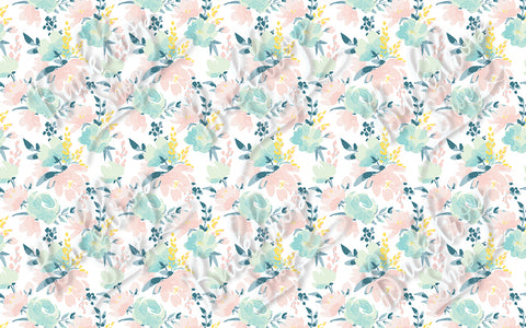 Blush Floral - Backdrop Shop
