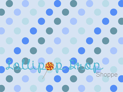 Boyish Dots - Backdrop Shop