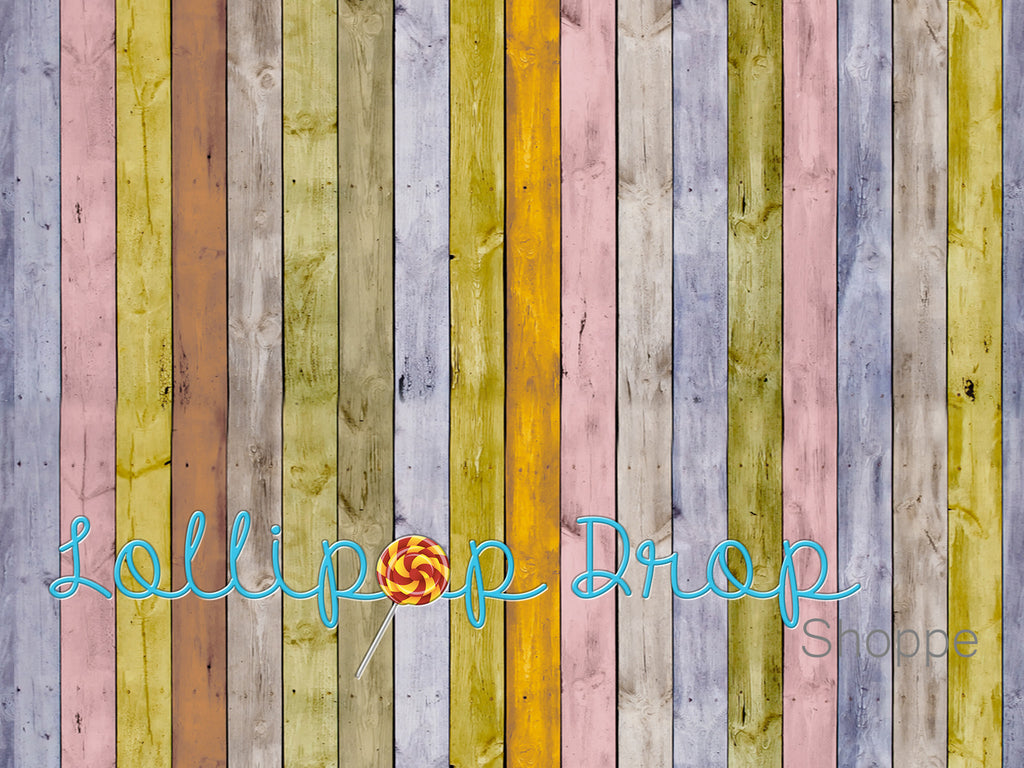 Bright Stripped Wood - Backdrop Shop