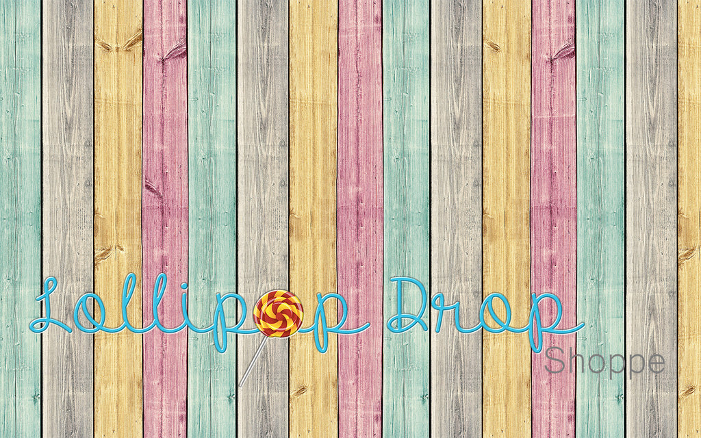 Candy Planks - Backdrop Shop