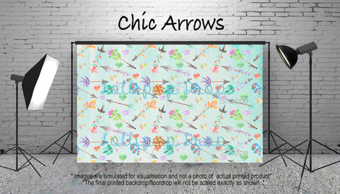 Chic Arrows - Backdrop Shop