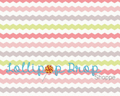 Cracked Pink Chevron - Backdrop Shop