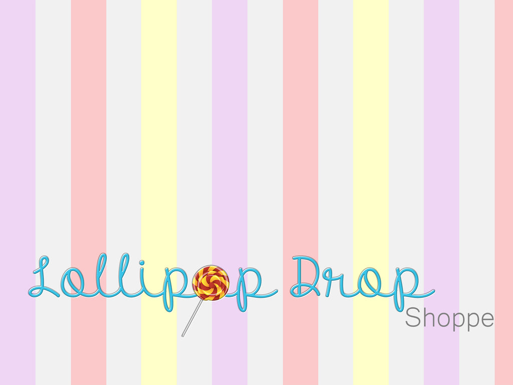 Girly Stripes - Backdrop Shop