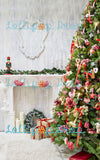 Glamorous Christmas Tree - Backdrop Shop