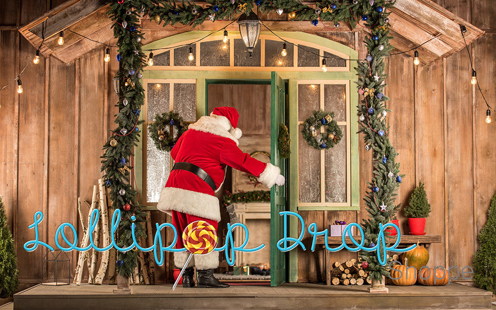 Here comes Santa - Backdrop Shop