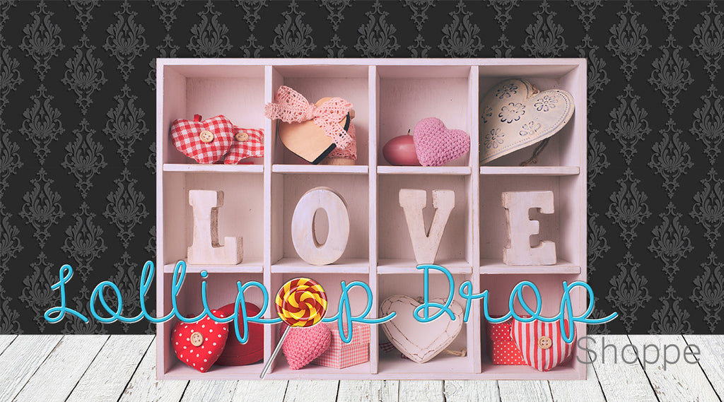Love Shelf - Backdrop Shop