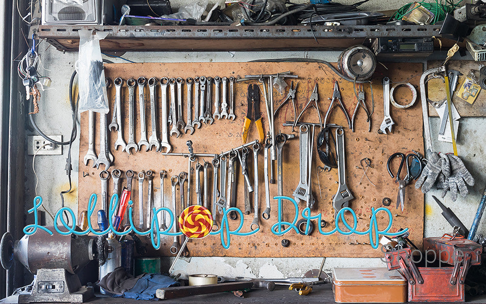 Mechanic's Bench - Backdrop Shop