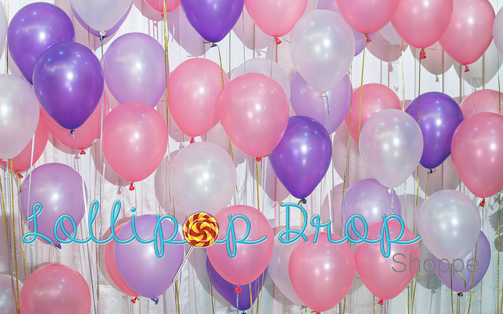 Party Balloons - Backdrop Shop