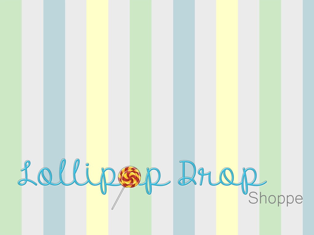 Pastel Stripes - Backdrop Shop