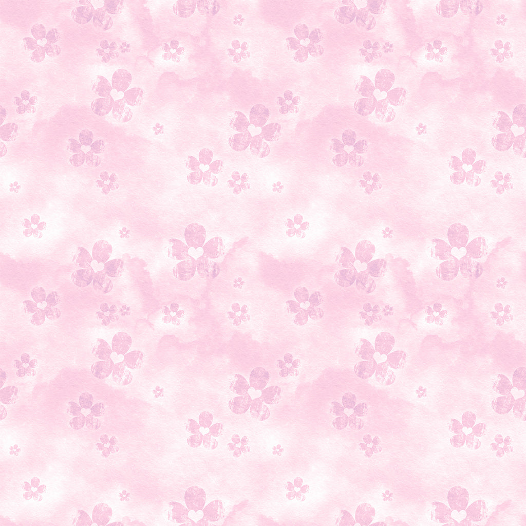 Pink Floral - Backdrop Shop