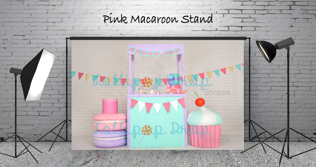 Pink Macaroon Stand - Backdrop Shop